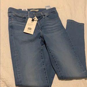 Levi's skinny jeans (brand new)